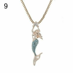Jewelry - 📣 4 Available Crystal Mermaid Necklace